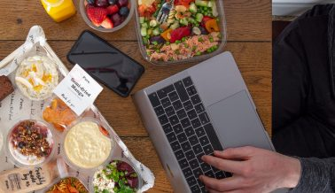 Working From Home Food Delivery