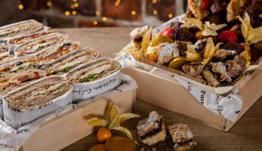 Christmas catering all wrapped up!