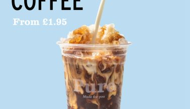 Iced Coffees are BACK!