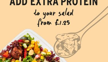 Add extra protein to your salad