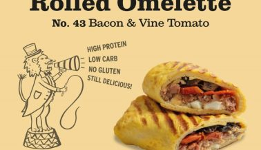 Introducing the Rolled Omelette 🍳