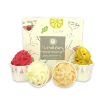 Wild Olive Cocktail Party Bath Melts collection