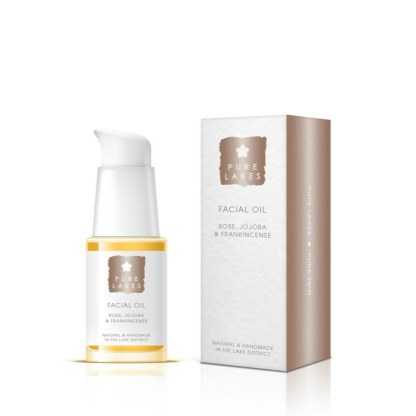 Pure Lakes Rose, Jojoba & Frankincense Facial Oil