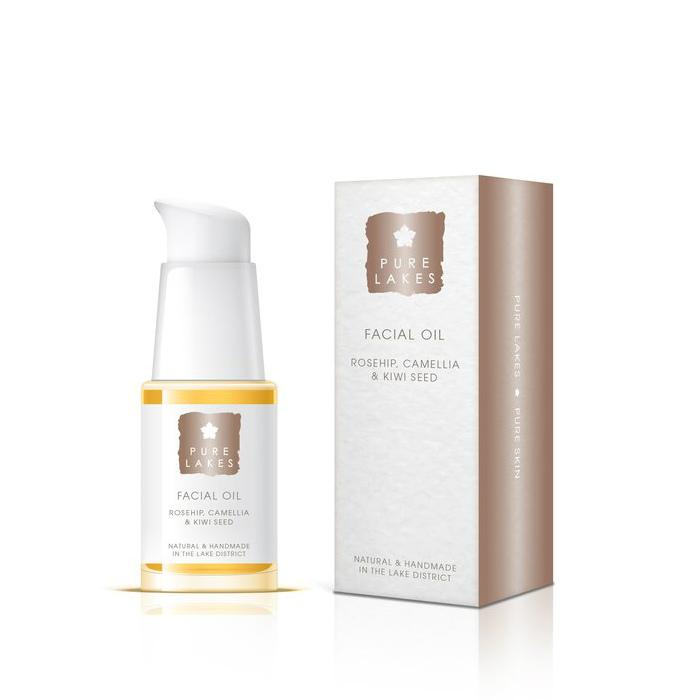 Pure Lakes Rosehip, Camellia & Kiwi Seed Facial Oil
