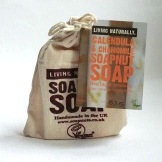 Living Naturally Calendula & Chamomile Castile Soapnut Soap
