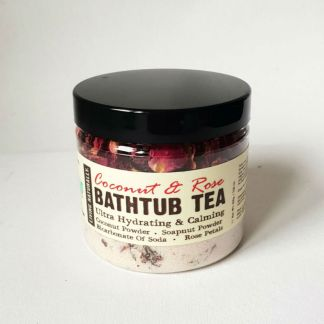Living Naturally Coconut & Rose Bathtub Tea
