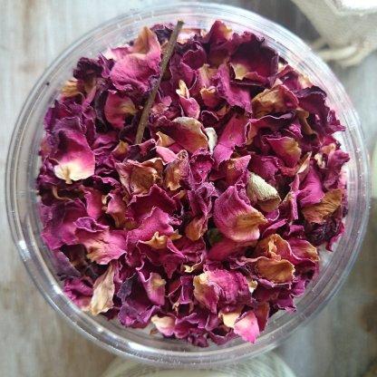 Living Naturally Cocnout Rose Milk Bath Tea