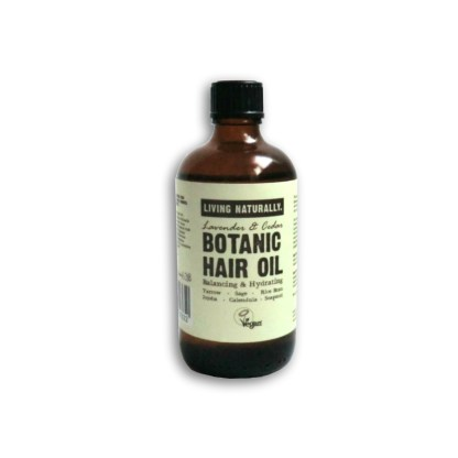 Living Naturally Lavender & Cedar Hair Oil