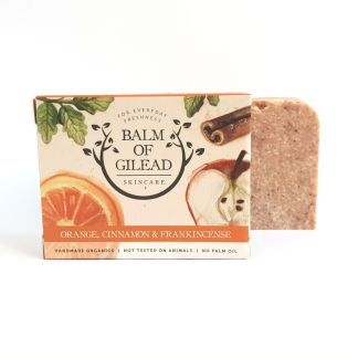 Balm of Gilead Orange Cinnamon & Frankincense Soap