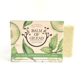 Balm of Gilead Tea Tree, Peppermint & Cucumber Soap