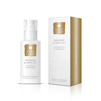 Pure_Lakes_Massage_Bath_Oil_Lavender_Chamomile_100ML
