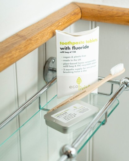 Eco Living Toothpaste Tabs Tablets with Flouride