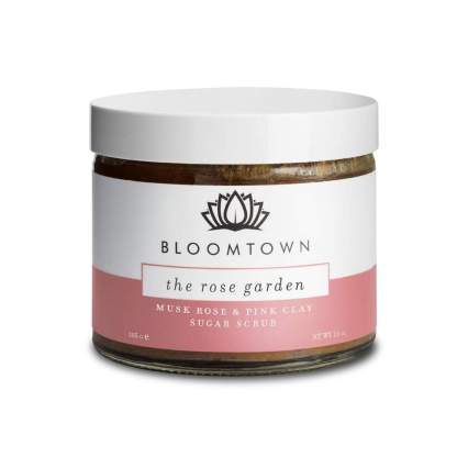 Bloomtown the Rose Garden Sugar Scrub