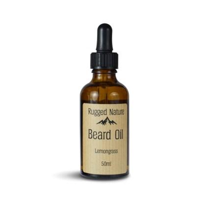 Rugged Nature Lemongrass Beard Oil Al