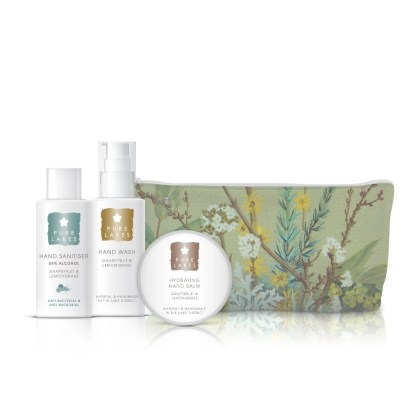 Pure Lakes Home Spa hands Gift Bag