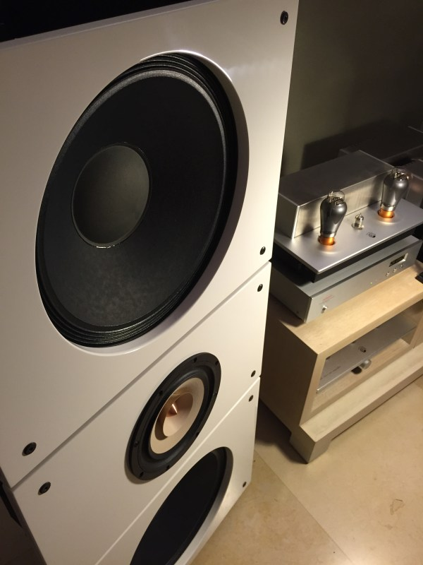 Quintet15 Wall Of Sound Modular Open Baffle Speakers - Year