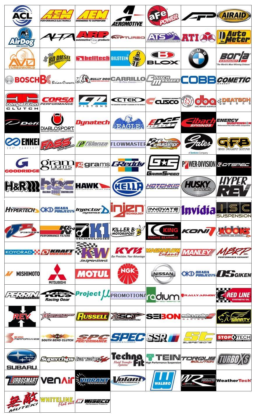 exhaust brands
