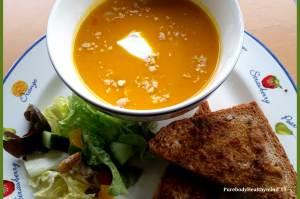 Pompoen-pastinaak soep