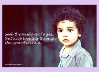 child-eye
