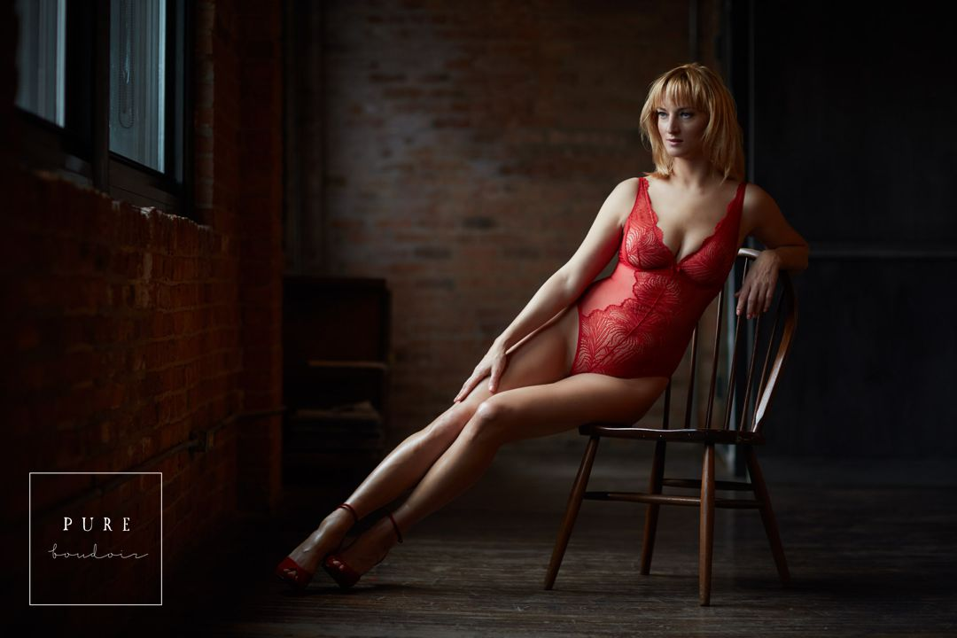 chicago boudoir photography lingerie - Natural Light Boudoir Photography - Chicago