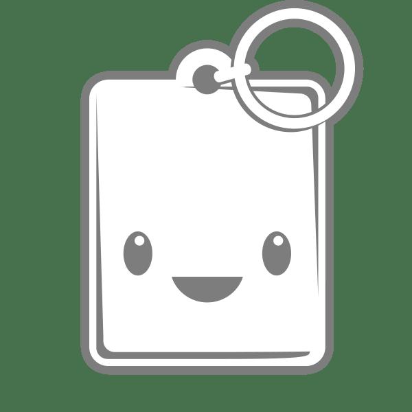 rectangle custom keychains