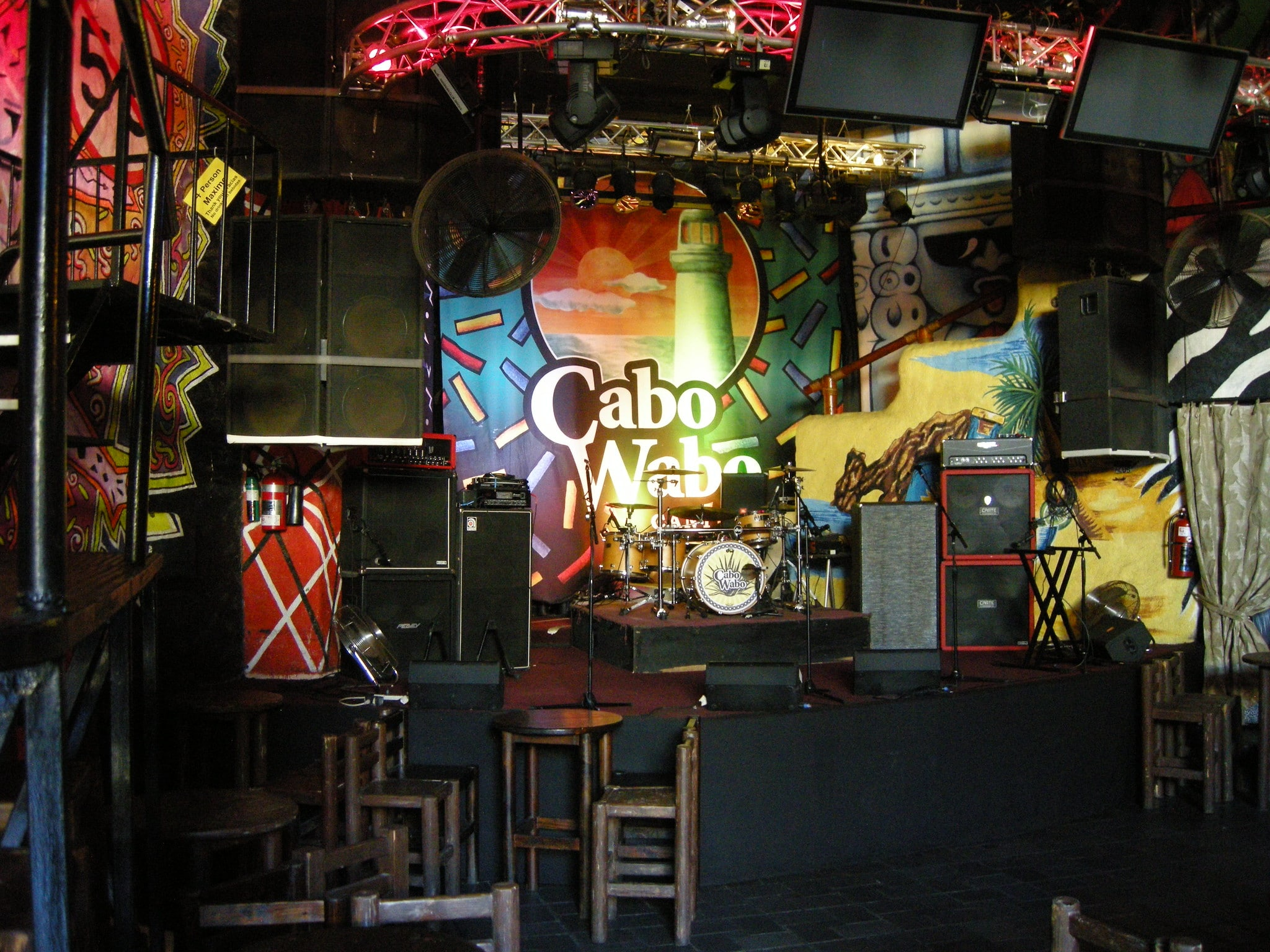 Cabo Wabo Live Music Events