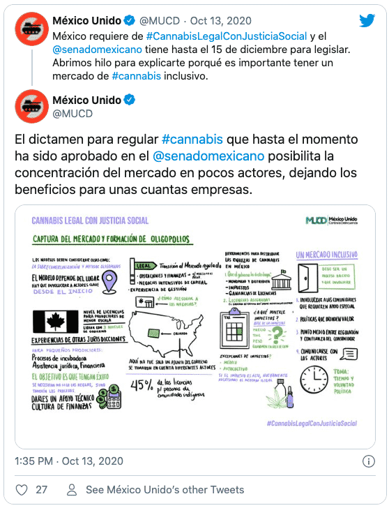 Cannabis legal in Mexico