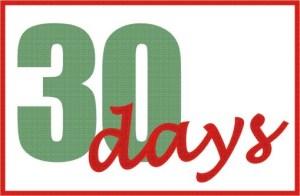 30 Days - 100Pedals