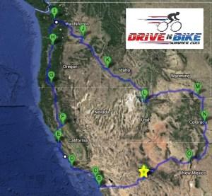 Drive N Bike Map