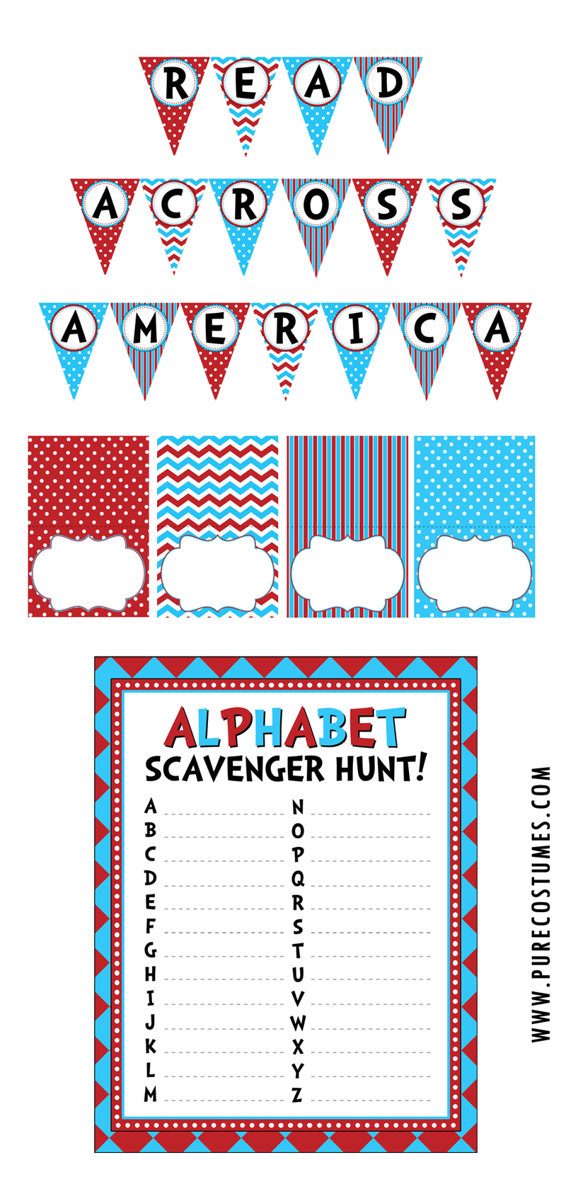 Free Read Across America Day Printables