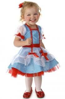 Dorothy Glitter Infant Costume