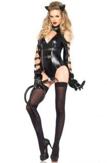 Fetish Feline Adult Costume