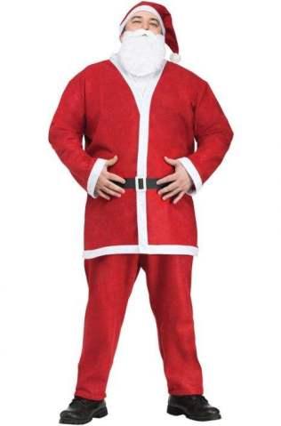 Pub Crawl Santa Suit Plus Size Costume