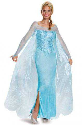 Elsa Prestige Adult Costume