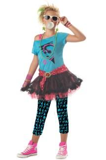 80' Valley Girl Child Costume