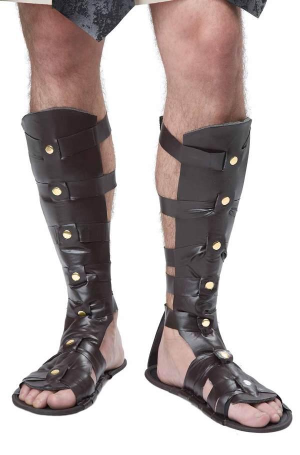 Spartan Warrior Roman Gladiator Sandals Shoes