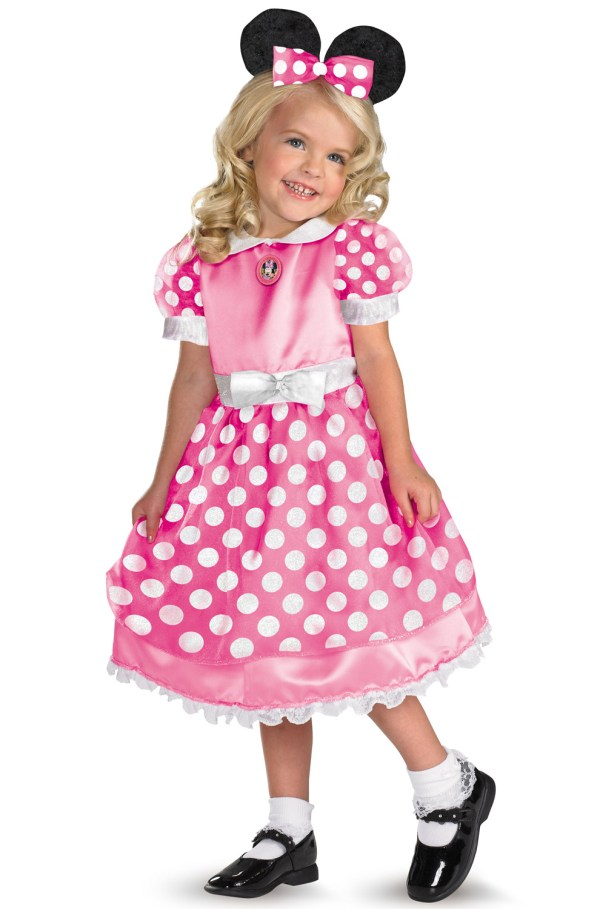 Disney Clubhouse Minnie Mouse Toddler Costume Pink