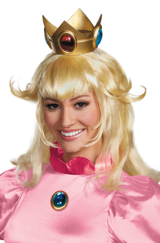 Princess Peach Adult Wig Purecostumes Com