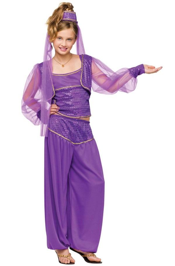 Dreamy Genie In Bottle Aladdin Girls Child Halloween