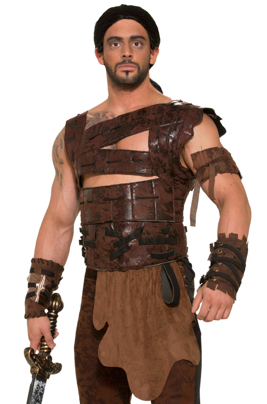 Faux Leather Armor And Belt Purecostumes Com