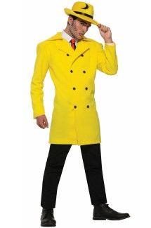 Yellow Jacket Gangster Adult Costume