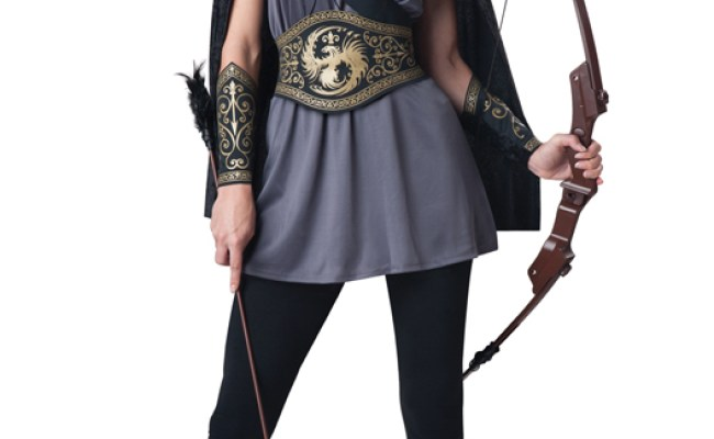 Huntress Medieval Warrior Hunger Game Adult Halloween
