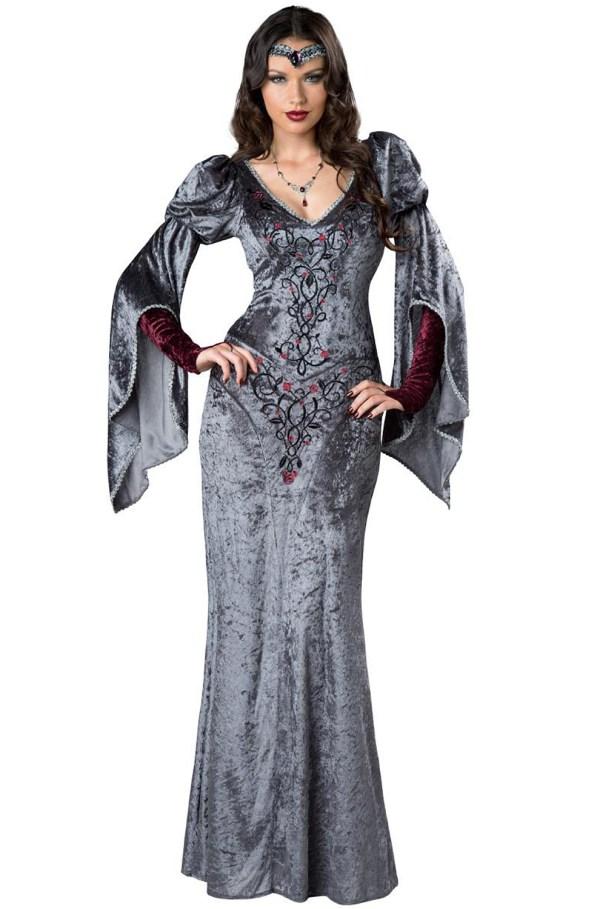 Brand Dark Medieval Maiden Renaissance Women Adult