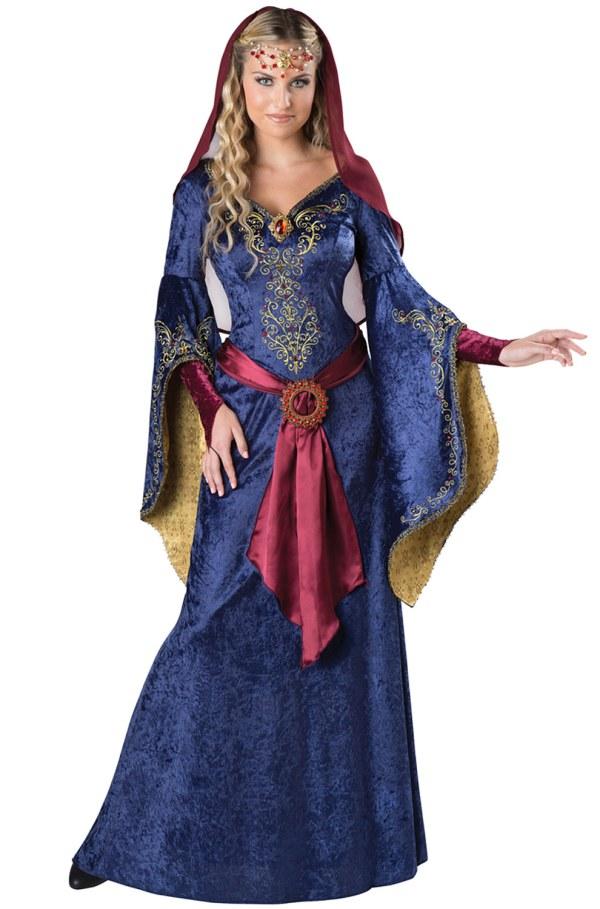 Elegant Maid Marian Renaissance Lady Adult Costume