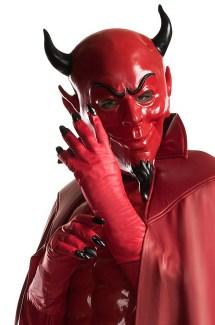 Red Devil Adult Gloves