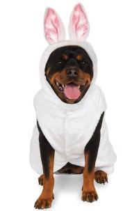 Brand New Bunny Rabbit Big Dog Pet Dog Costume