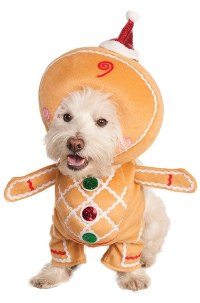 Gingerbread Man Pet Costume - PureCostumes.com