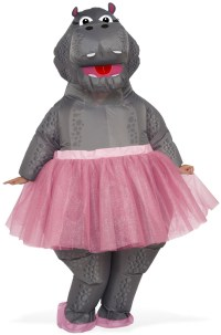 Inflatable Hippo Adult Costume - PureCostumes.com