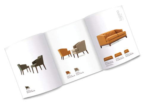 Furniture Brochure Design – Knightsbridge Furniture Pure