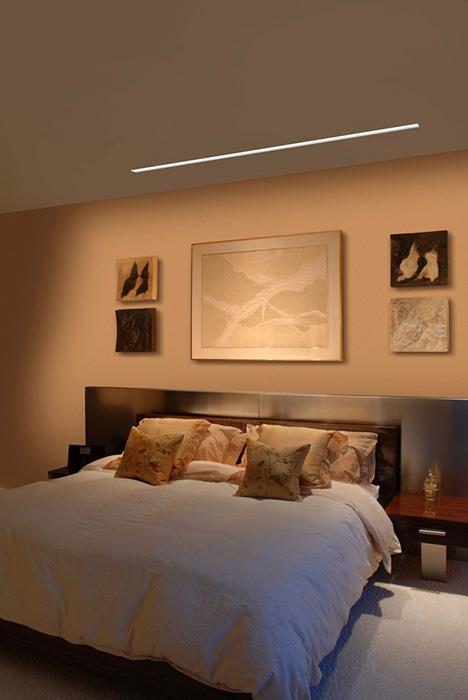 Pure Lighting Reveal Wall Wash Biy 24vdc Plaster In